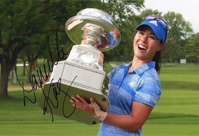 Danielle Kang, signed 12x8 inch photo.(2)